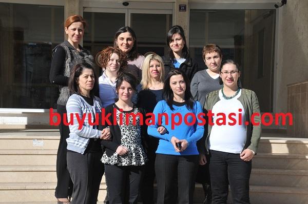 8 Mart Dünya Kadınlar gününü kutladılar