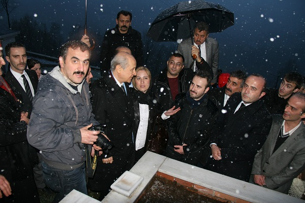 MHP Genel Başkanı Devlet Bahçeli Vakfıkebir'de