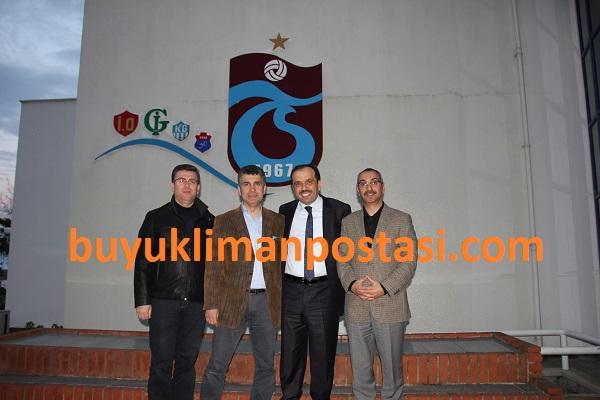 Balta'dan Trabzonspor'a destek ziyareti