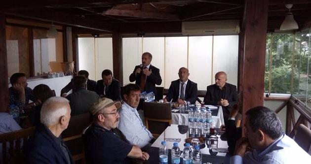 VAKFIKEBİR'İN MUHTARLARIYLA İSTİŞARELERDE BULUNDU