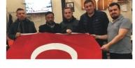 TS DERNEK BAŞKANI BAHADIR AFRİN#039;DE