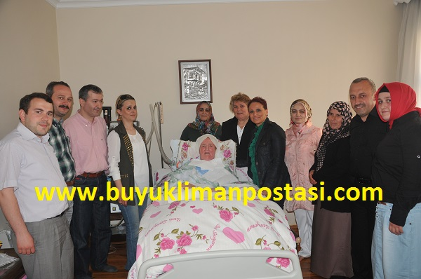 Fatma Nine' yi ziyaret ettiler