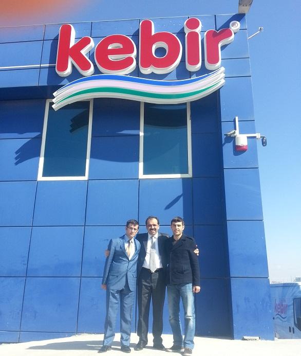 Bakan Yardımcısı Balta, Kebir Süt'ü ziyaret etti