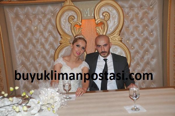 Birsen ile Alperen evlendi