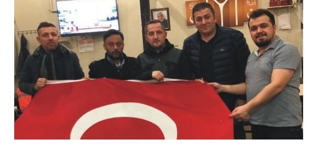 TS DERNEK BAŞKANI BAHADIR AFRİN'DE