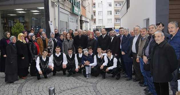 ZORLUOĞLU, VAKFIKEBİR'DE HORONLA KARŞILANDI