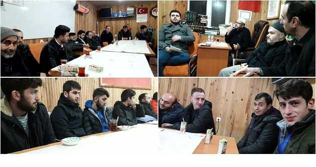 RIDVANLI MAHALLESİ'NDE 'CAMİ GENÇLİK BULUŞMASI'