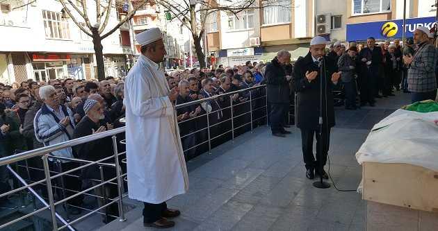 SAFİYE GÜNAYDIN'I EBEDİYETE UĞURLADI