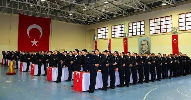TRABZON POLİS MESLEK EĞİTİM MERKEZİ 22. DÖNEM MEZUNLARINI VERDİ