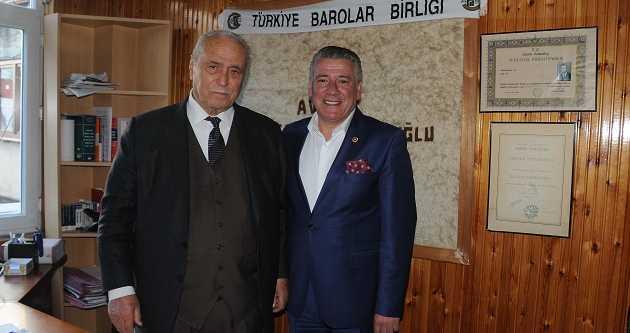 MİLLETVEKİLİ ÖRS'DEN KAMBUROĞLU'NA ZİYARET