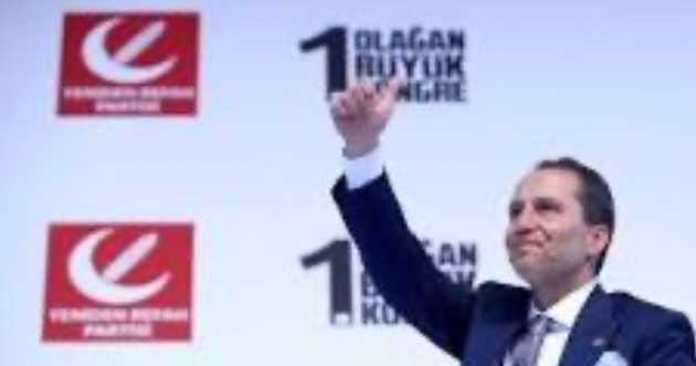 Yeniden Refah Partisi 1. Olağan Büyük Kongresi Yapıldı