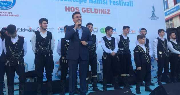 BAŞKAN BALTA HAMSİ FESTİVALİNE KATILDI