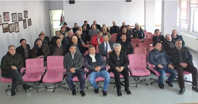 VAKFIKEBİR'DE ARICILARA SEMINER VERİLDİ
