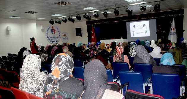 'MEDENİYETİN İNŞASINDA KADIN VE ÜRETİM'' KONULU PANEL