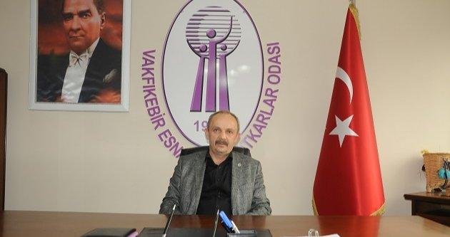 ESNAF ODASINDAN 'BİZ BİZE YETERİZ TÜRKİYEM' KAMPANYASINA DESTEK