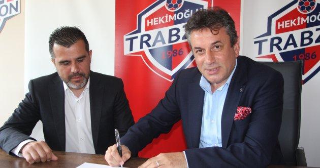 HEKİMOĞLU TRABZON FK, MUSTAFA ALPER AVCI'NIN SÖZLEŞMESİNİ İKİ YIL DAHA UZATTI